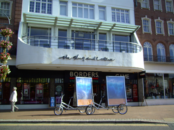 Adbikes Campaign in Bournemouth