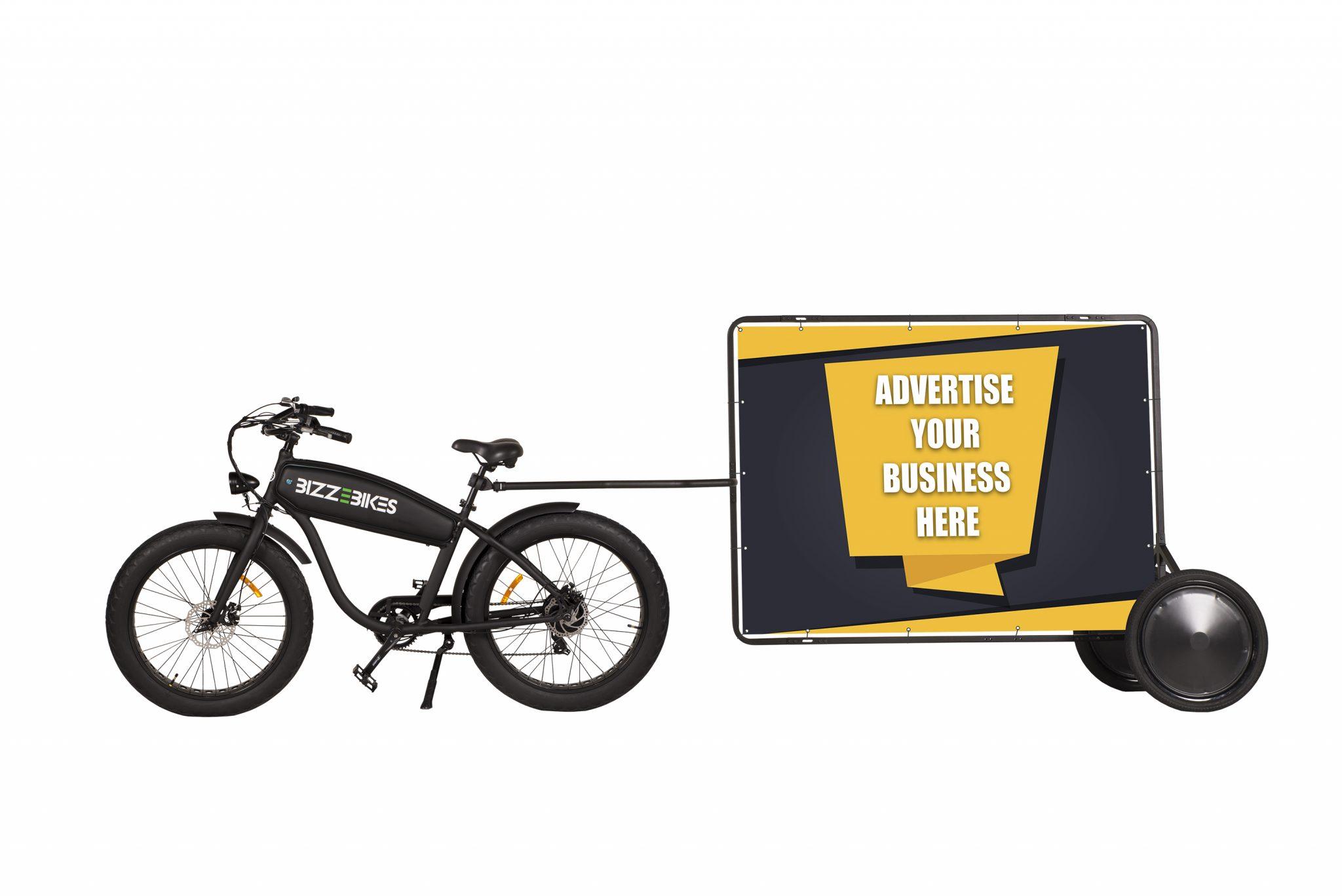 Bike Advertising Trailer