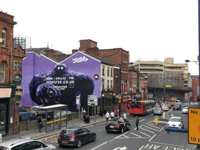 street mural advertising
